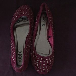 Rubi by H&M Punctured Flat Shoes. Pre-owned.